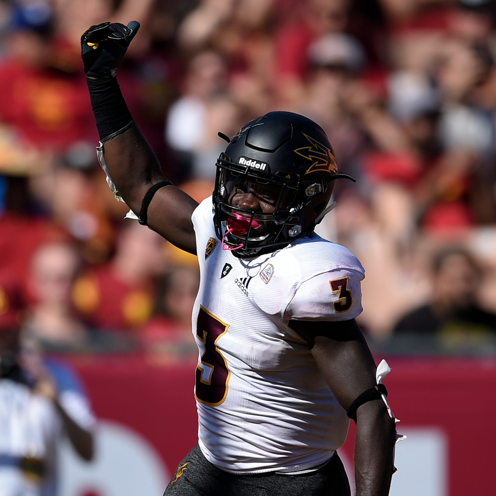 ASU sophomore back Eno Benjamin humble as records pile up