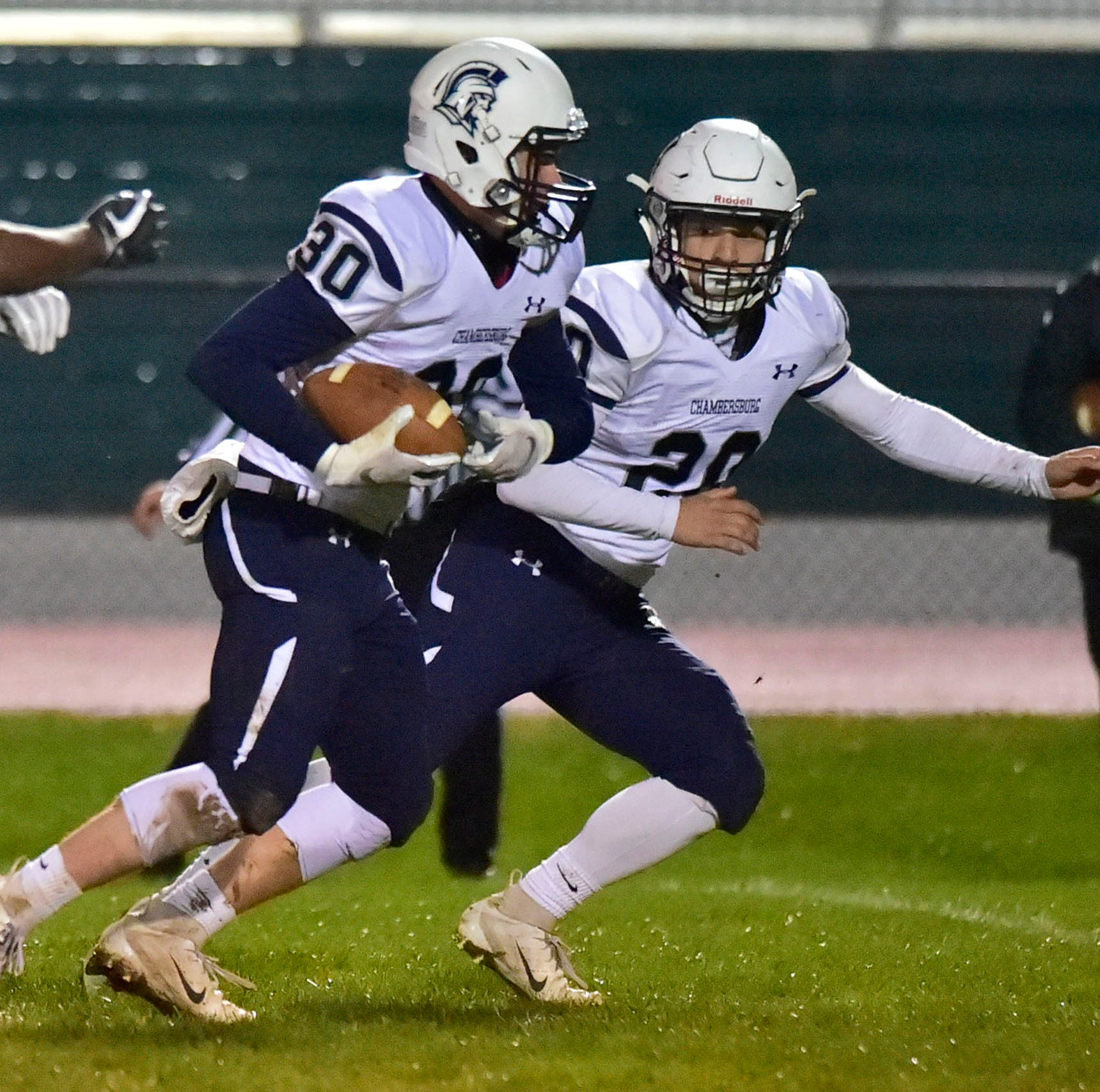 Chambersburg football hoping District 3 football playoff serves as building block