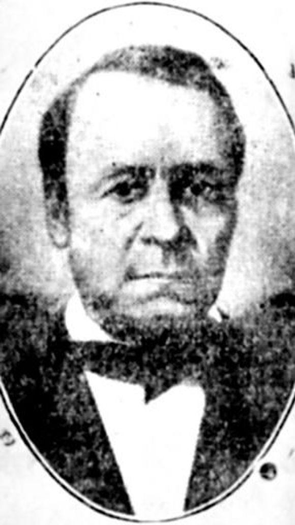 The only known photograph of William C. Goodridge was published in the York Gazette in 1907.