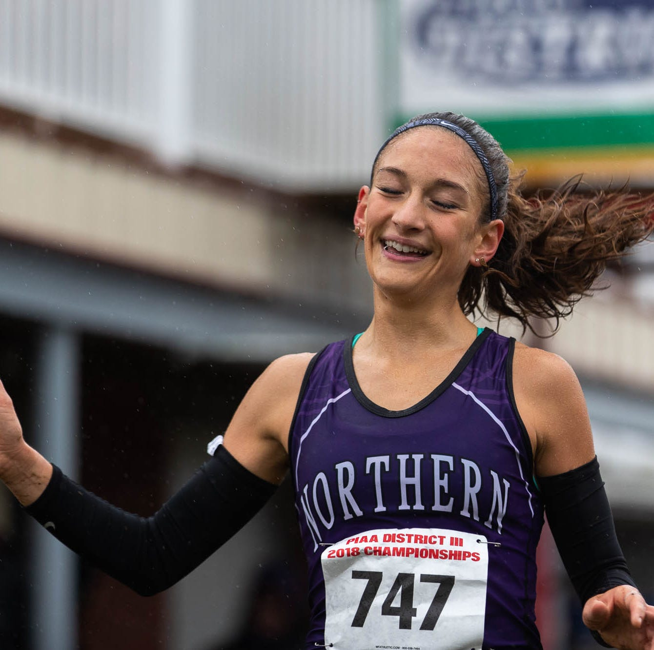 'I know I'm insane:' York County's All-American runner racking up records