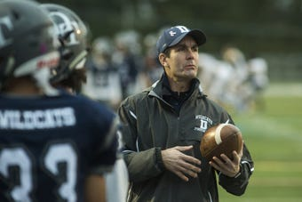 Pa. Auditor General Eugene DePasquale and Dallastown football coach Ron Miller discuss the former's role with the Wildcats, and how the two worked together in politics despite being in different parties.