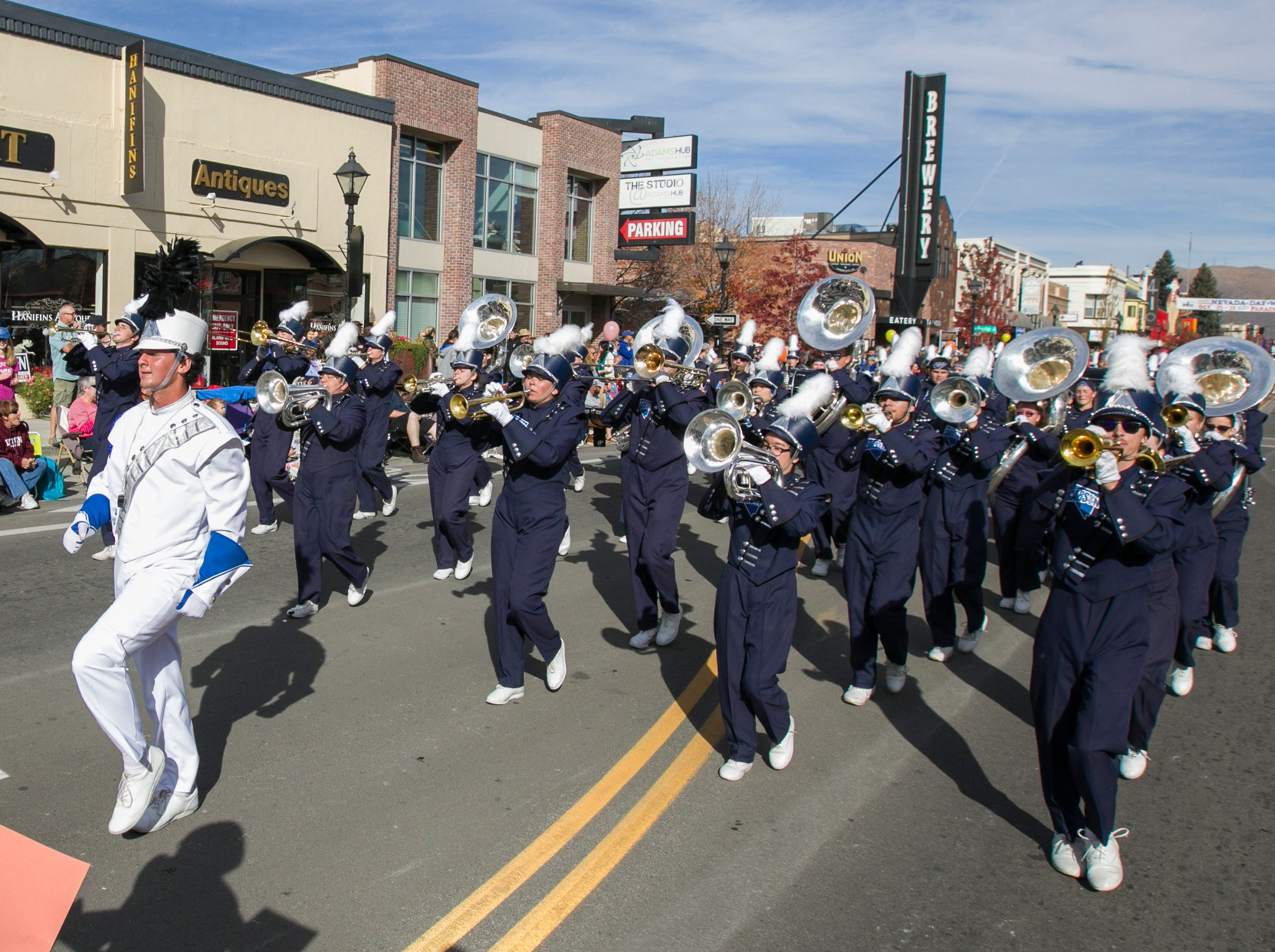 Photos from the Nevada Day parade in Carson City on Saturday