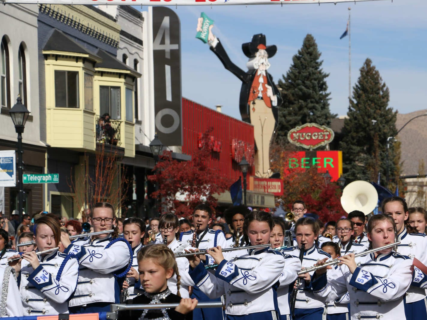 The Nevada Day Parade in Carson City on Oct. 27, 2018.