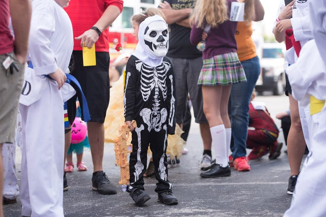 The City of Vero Beach Recreation Department's 60th Annual Halloween Parade & Costume Contest on Saturday, October 27, 2018 in Vero Beach.