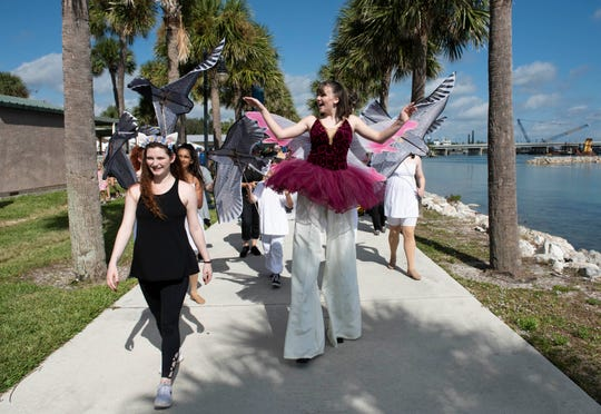 The sixth annual Indian River Lagoon Science Festival is 10 a.m. to 3 p.m. Saturday at the River Walk Center and Veterans Memorial Park in Fort Pierce.