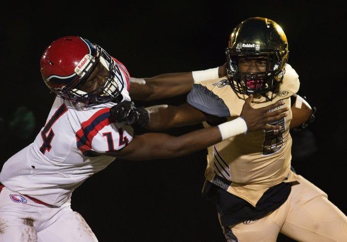 High School Football Centennial Vs Treasure Coast