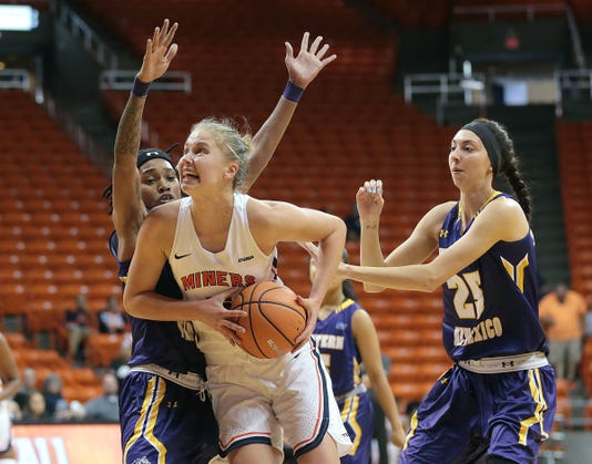 8 Wbb Utep Vs Western New Mexico