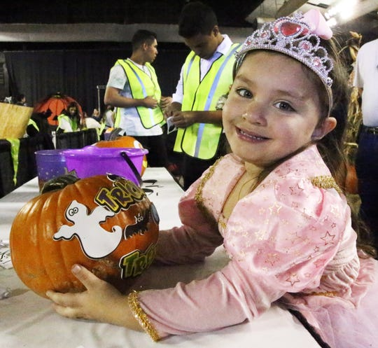 There are plenty of fun activities for children in the El Paso area this Halloween.