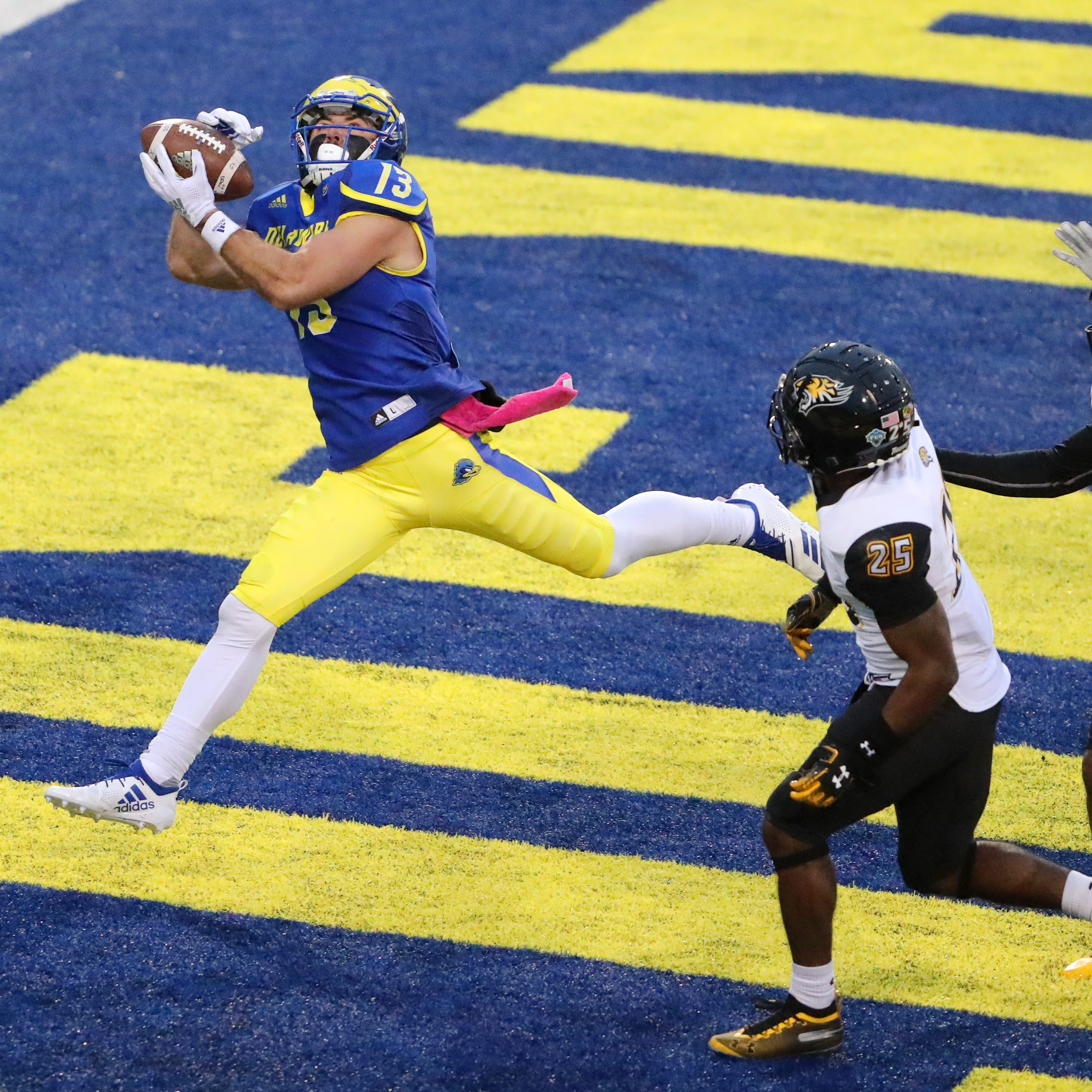 Invincible in his own right, Vinny Papale stars in senior season for Delaware