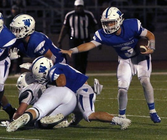 Windthorst's Cy Belcher takes over for three-year starting quarterback Hunter Wolf this fall.