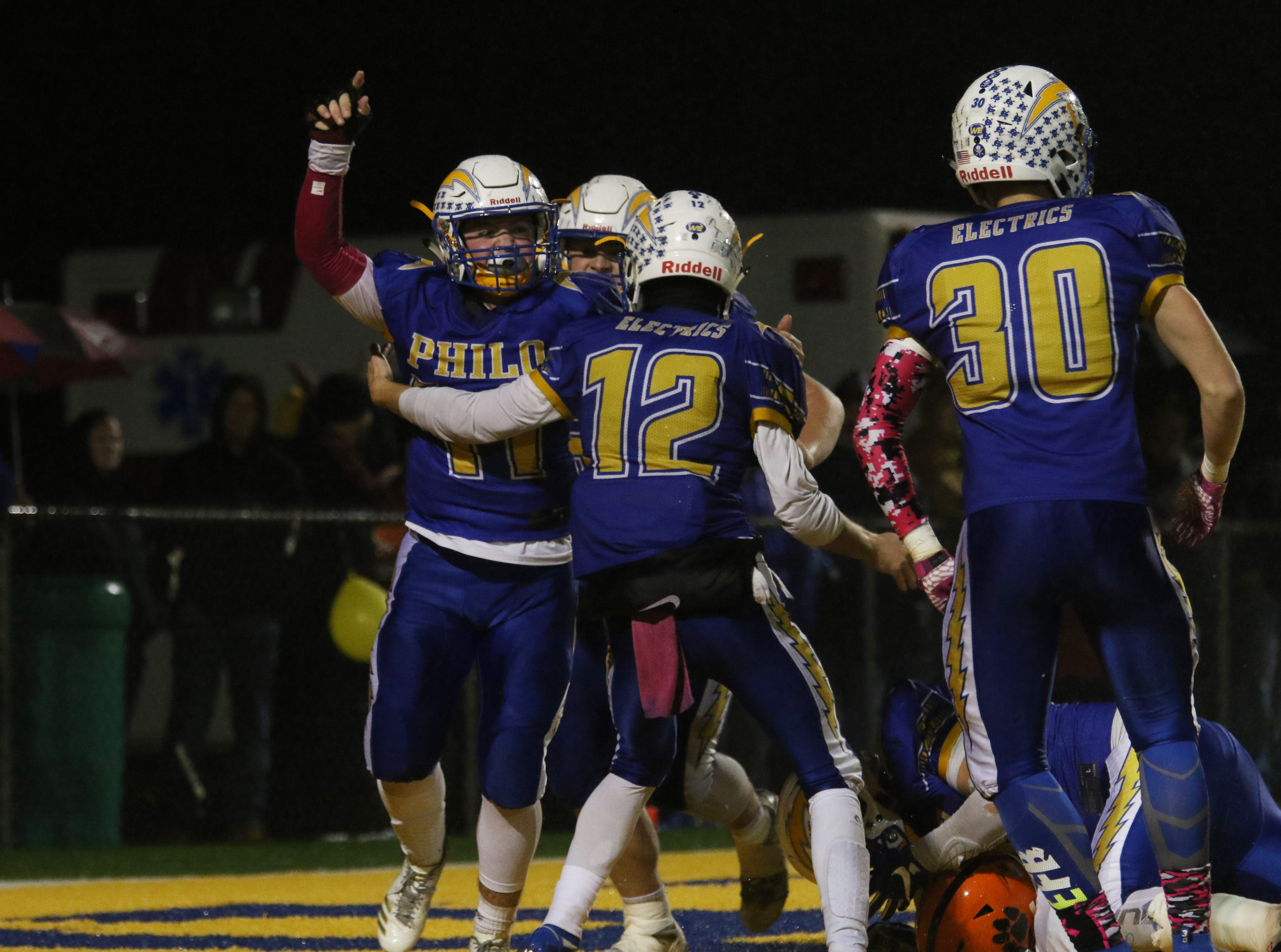 Philo defeated visiting New Lexington to finish the season 7-3.