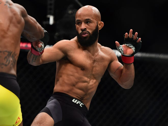 Demetrious Johnson lost his UFC flyweight title in August.