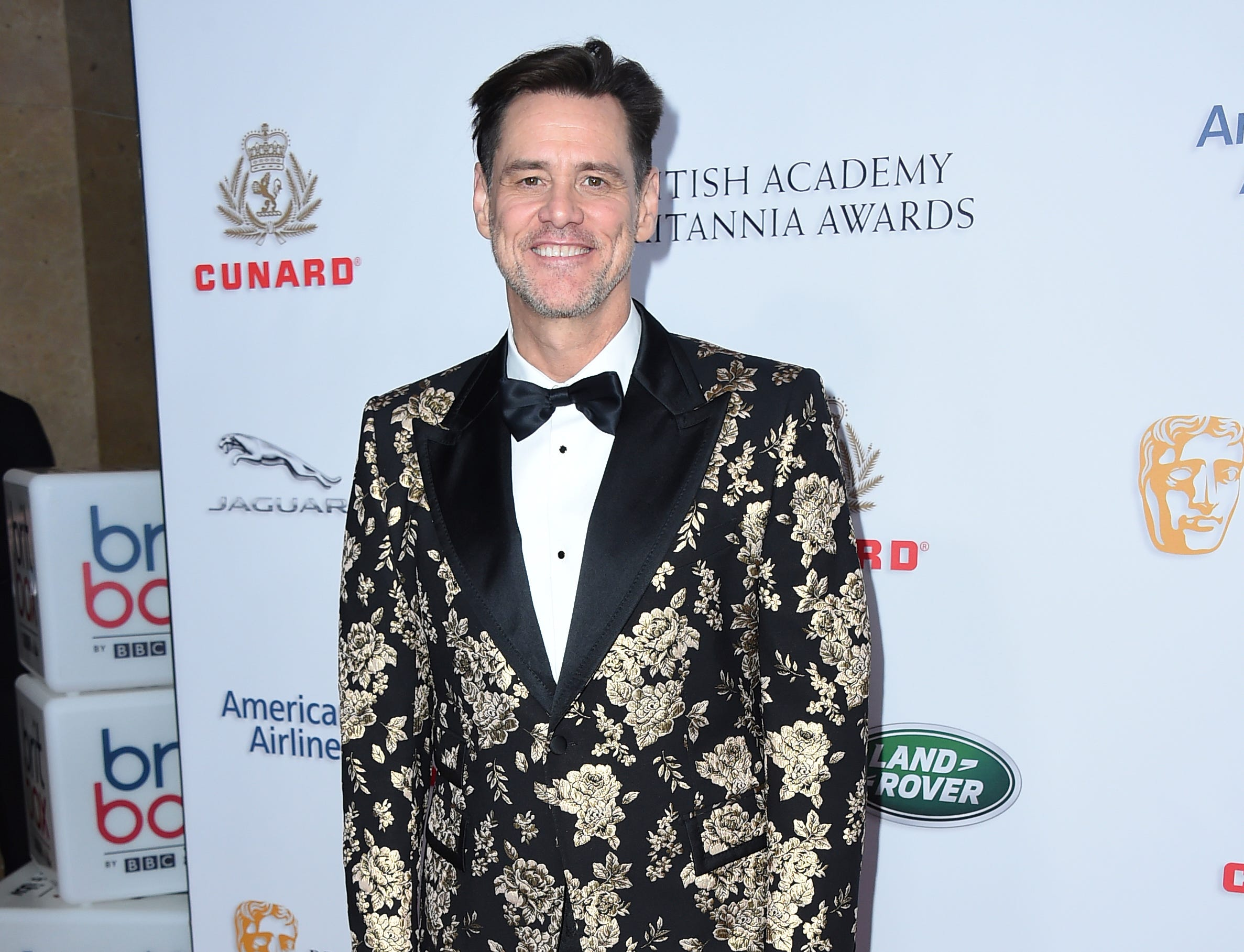 Jim Carrey recently made a political statement via Twitter that favored O'Rourke. Here he is arriving at the 2018 BAFTA Los Angeles Britannia Awards at the Beverly Hilton on Friday, Oct. 26, 2018, in Beverly Hills, Calif. (Photo by Jordan Strauss/Invision/AP) ORG XMIT: CANS6461