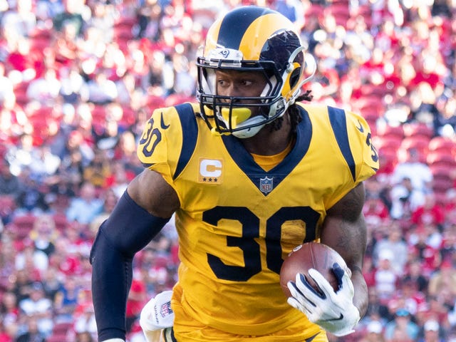 competitive price 24de0 3499c NFL: Rams Todd Gurley making case for MPV, Steelers making ...