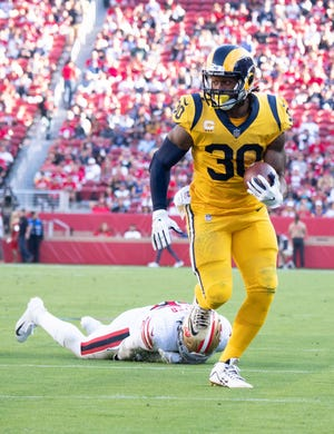Rams running back Todd Gurley is an MVP candidate.