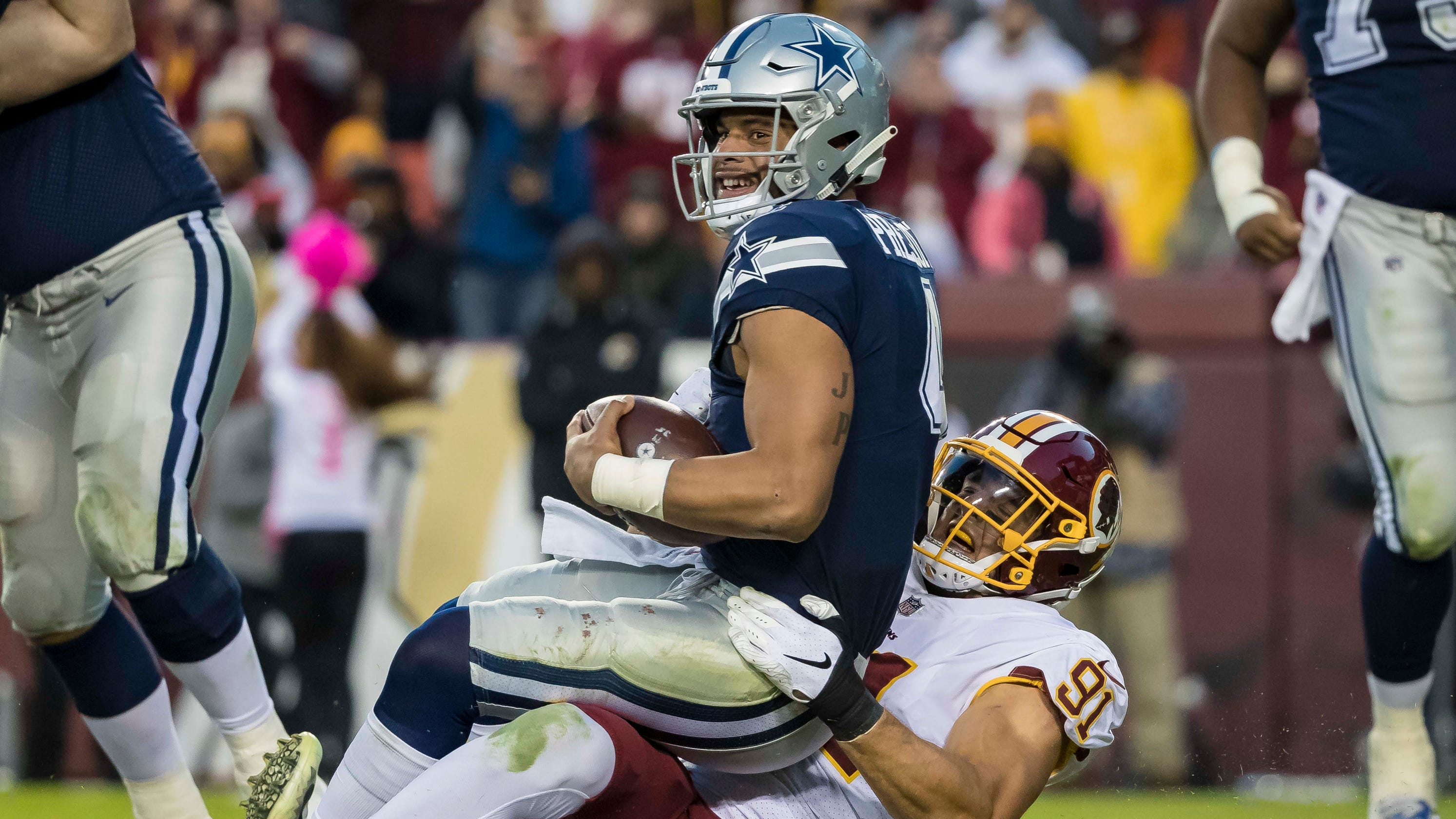 11331639091 'Like a hit of Mr. Clean': Cowboys' Dak Prescott, other pros get boost from  smelling salts