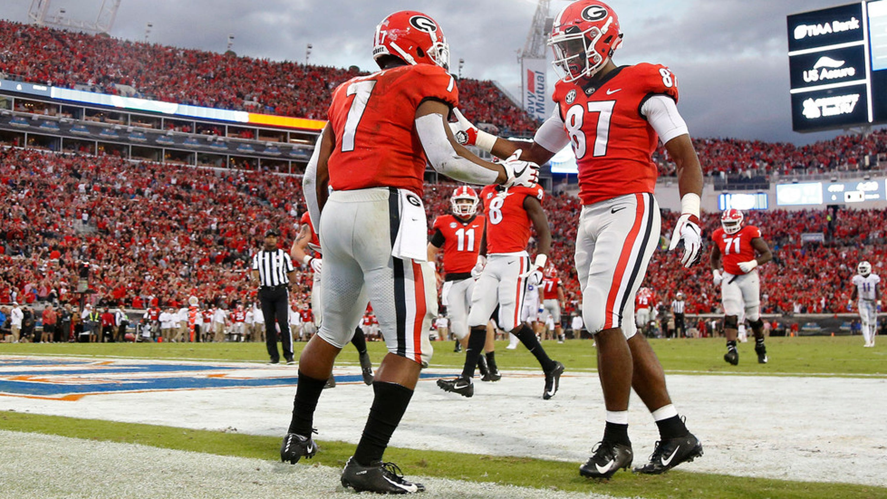 Georgia beat Florida but they're not yet College Football