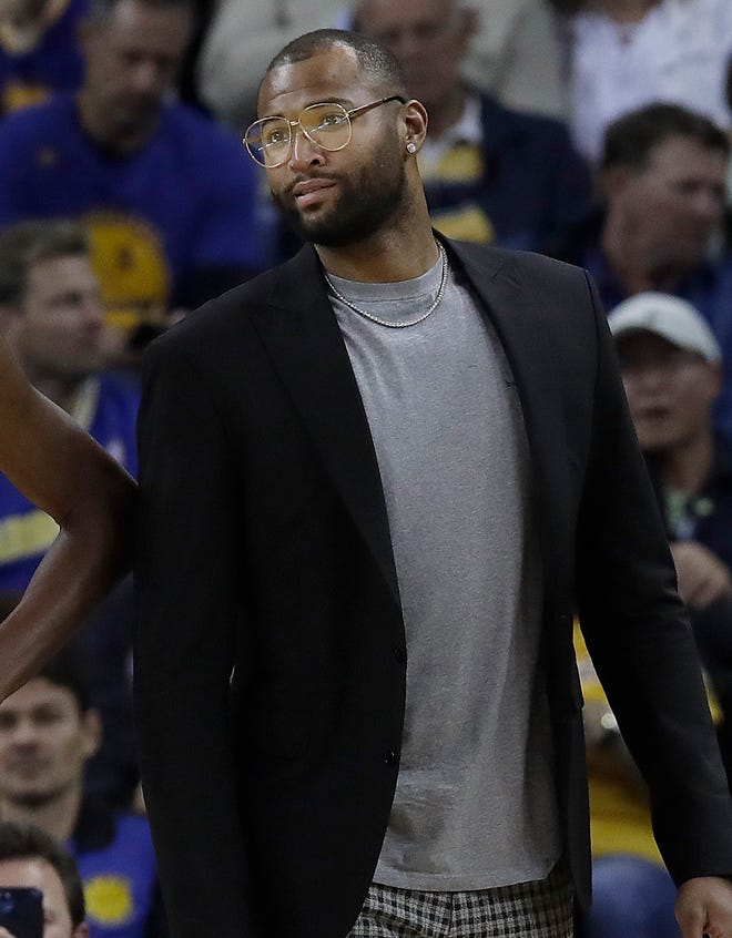 DeMarcus Cousins is still recovering from Achilles surgery in January.