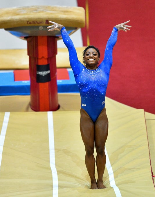 Epa Qatar Artistic Gymnastics World Championships Spo Gymnastics Qat