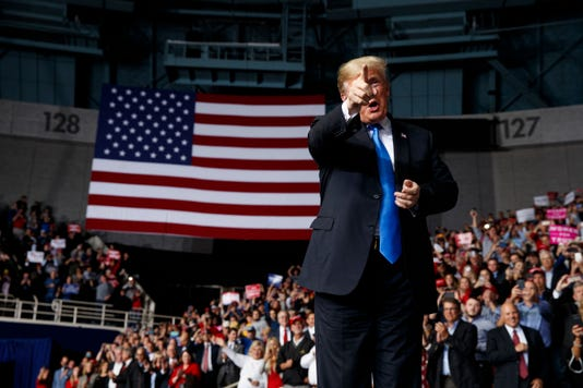 Ap Election 2018 Trump A Eln Usa Nc