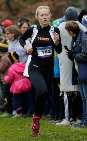 Jada Beacom, a senior for Iola-Scandinavia, finished fourth in the Division 3 girls race at the WIAA state cross country meet Saturday.