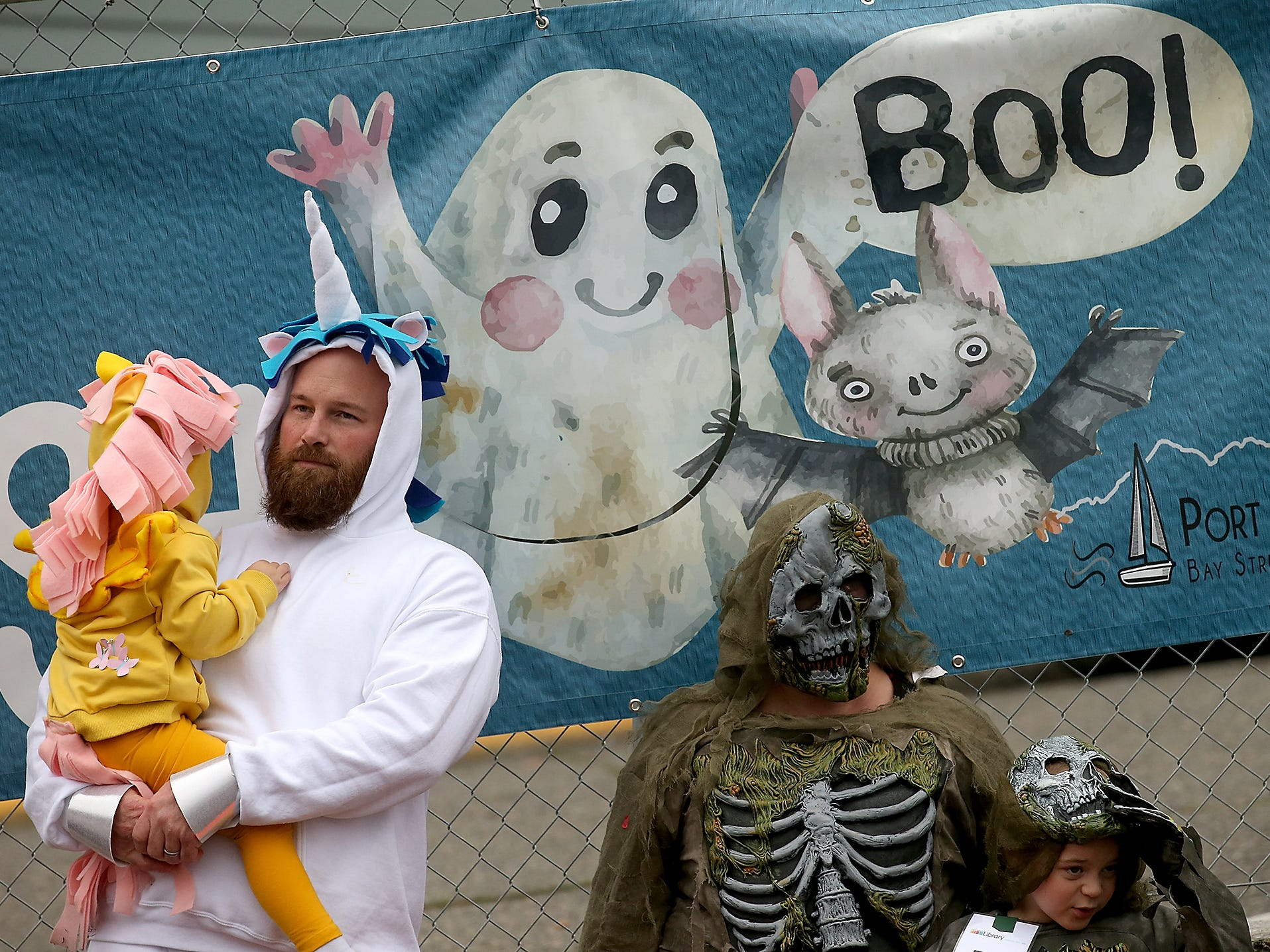 Port Orchard's Spookfest on Saturday, October 27, 2018.