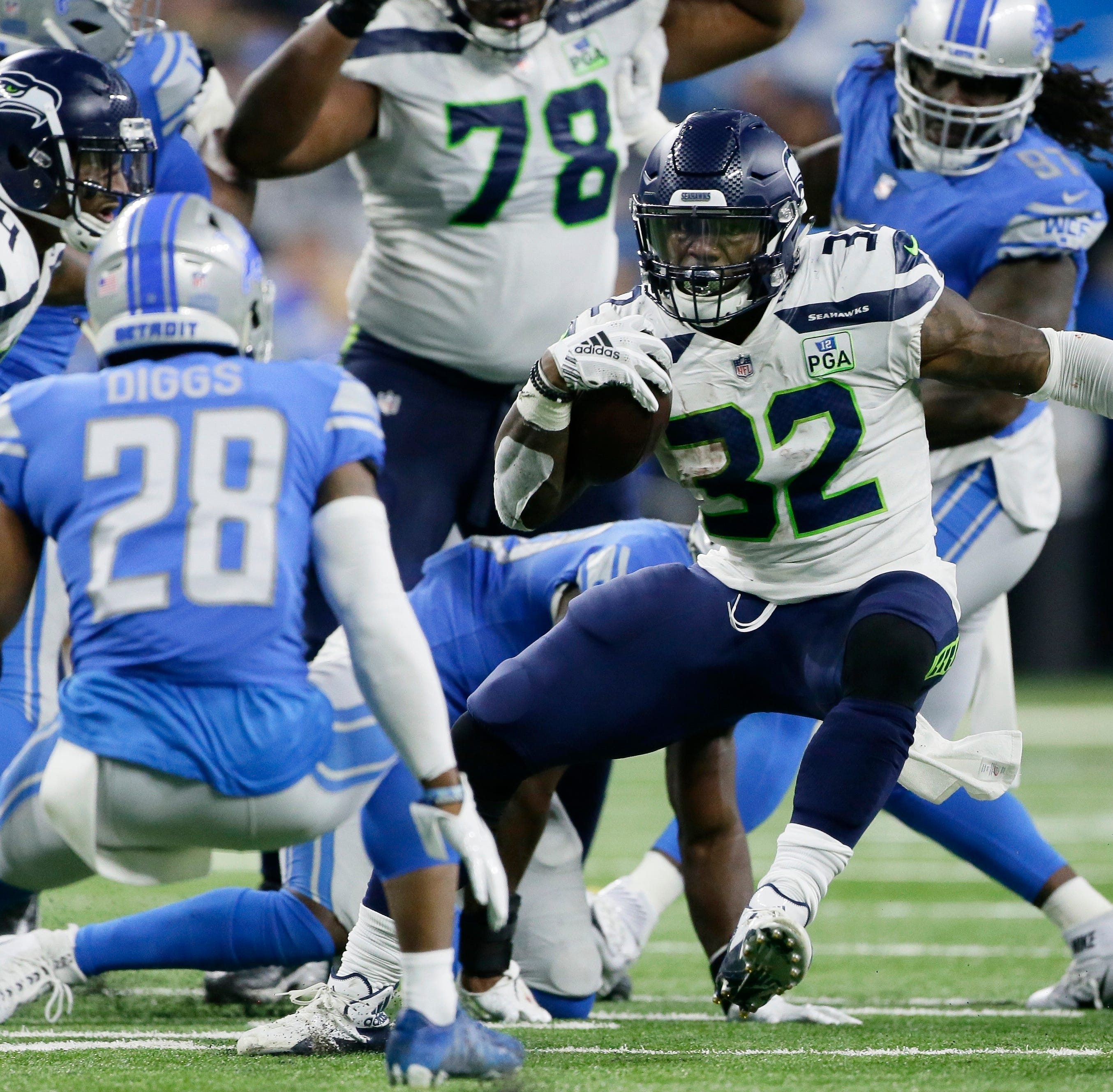Seahawks' running back depth will be tested against Rams