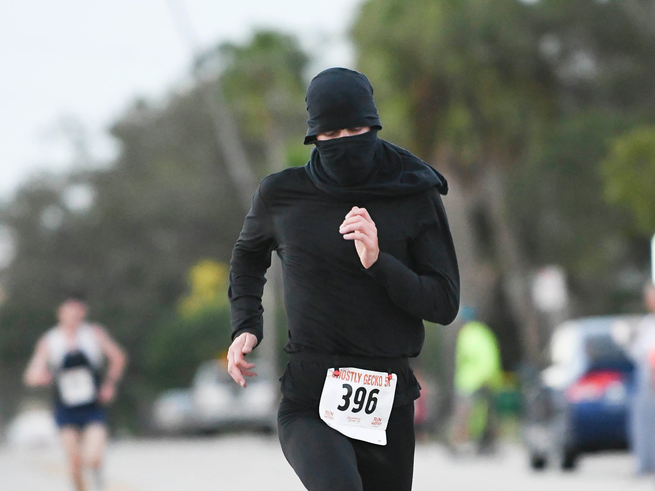 Was the first male finisher in the Ghostly Gecko 5K in the Eau Gallie Art District.