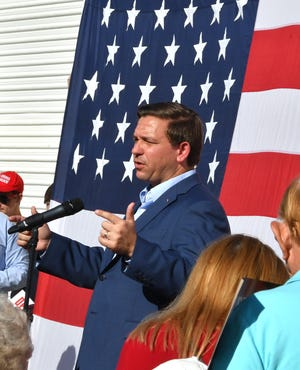 Ron DeSantis, candidate for governor of Florida, visited the Republican Party of Brevard's office for a rally on Oct. 28.