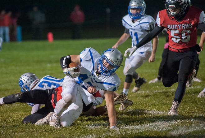 Kendall Blair will look to establish the run game for Wynford in Week 2.