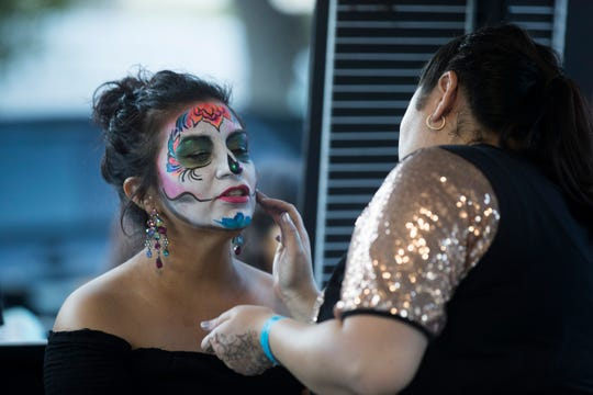 Corpus Christi celebrates Dia de los Muertos Festival on Saturday, Oct. 27, 2018 in Downtown Corpus Christi