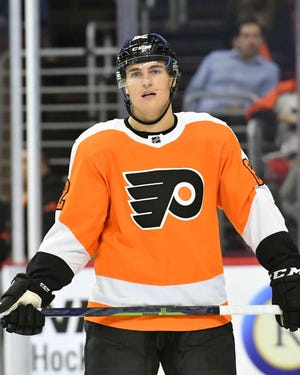 Nicolas Aube-Kubel may soon make his NHL debut. He was recalled Sunday along with Tyrell Goulbourne.