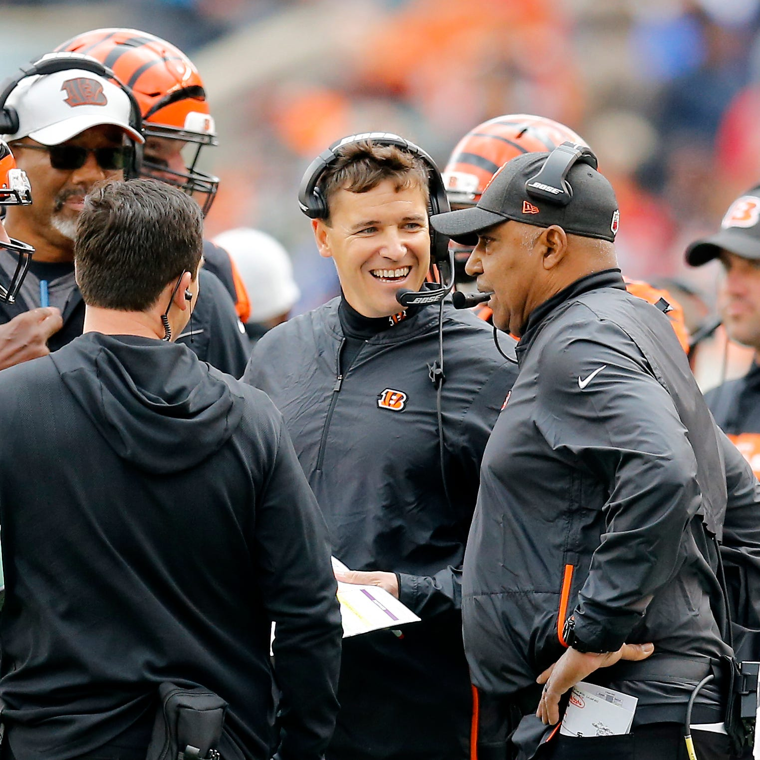 Can the Cincinnati Bengals' coaching staff control the chaos in Baltimore?