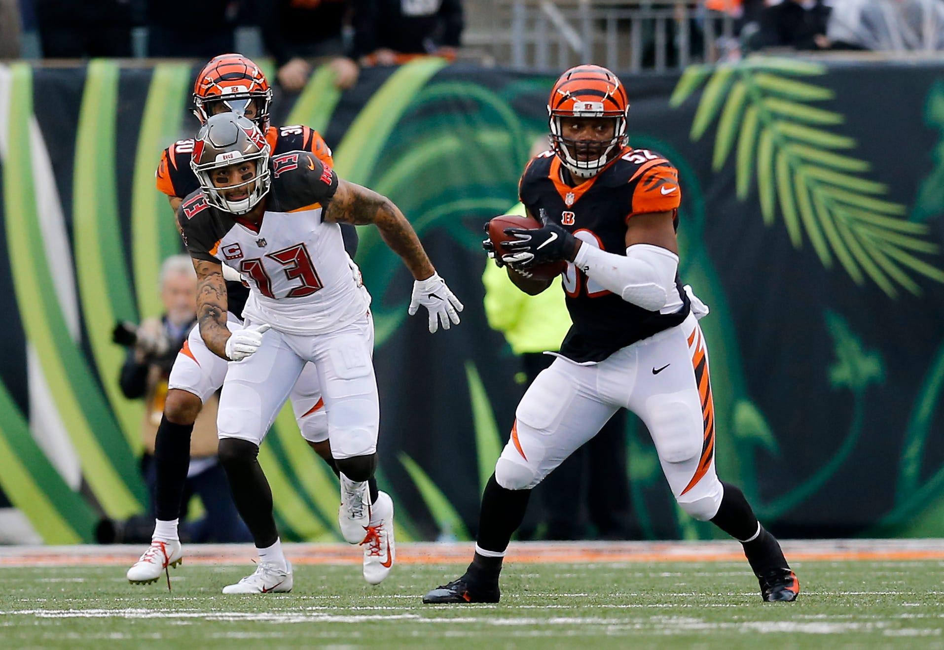 Cincinnati Bengals cut linebacker Preston Brown
