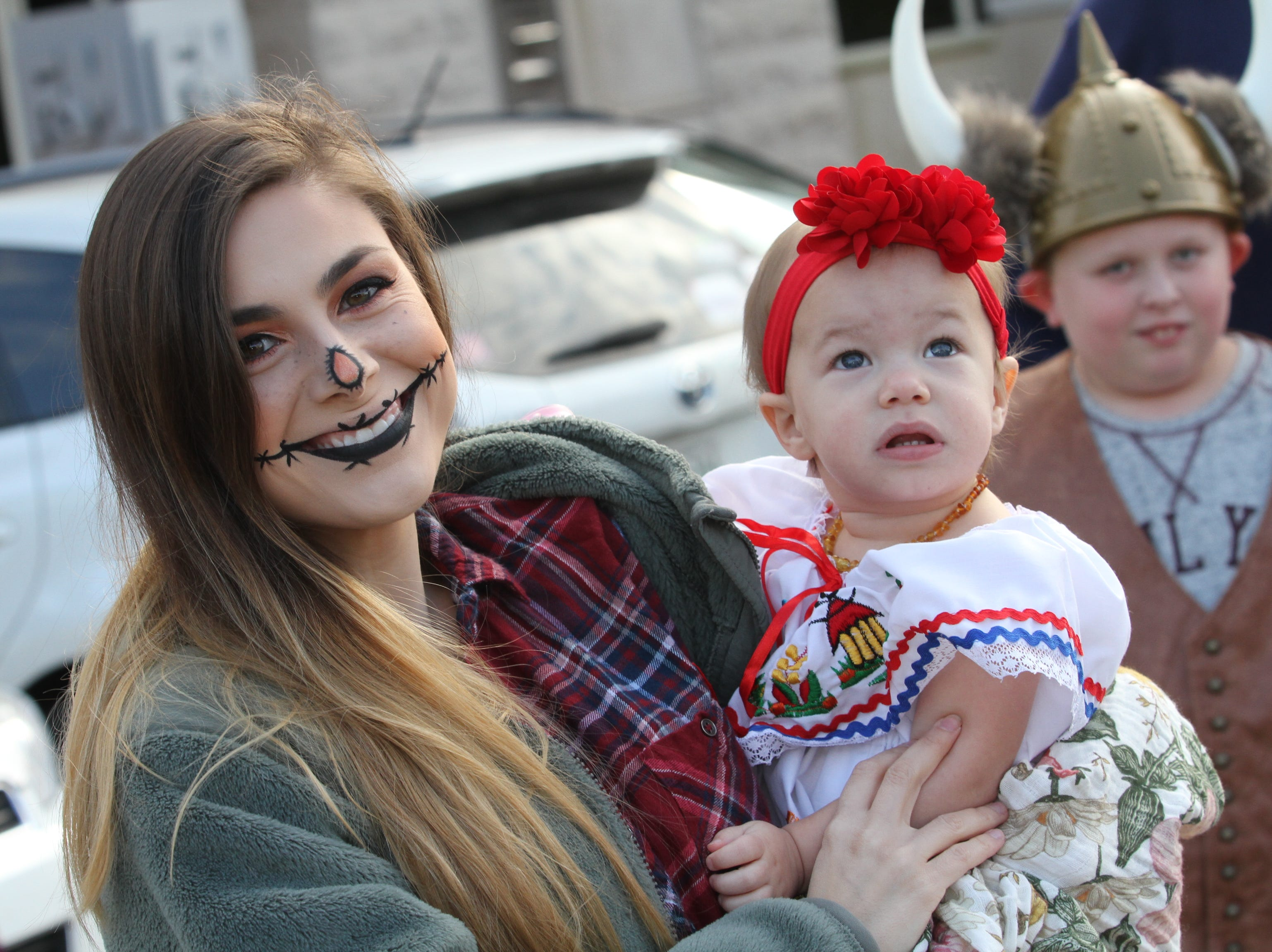 Thousands were downtown Saturday, October 27, 2018 for Clarksville's annual Fright on Franklin.