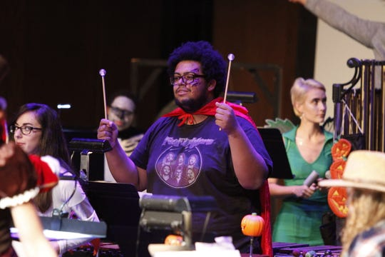Hundreds came out to enjoy the 6 p.m. and 8 p.m. presentations of this year's APSU Percussion Ensemble Halloween Concert on Friday, October 26, 2018.