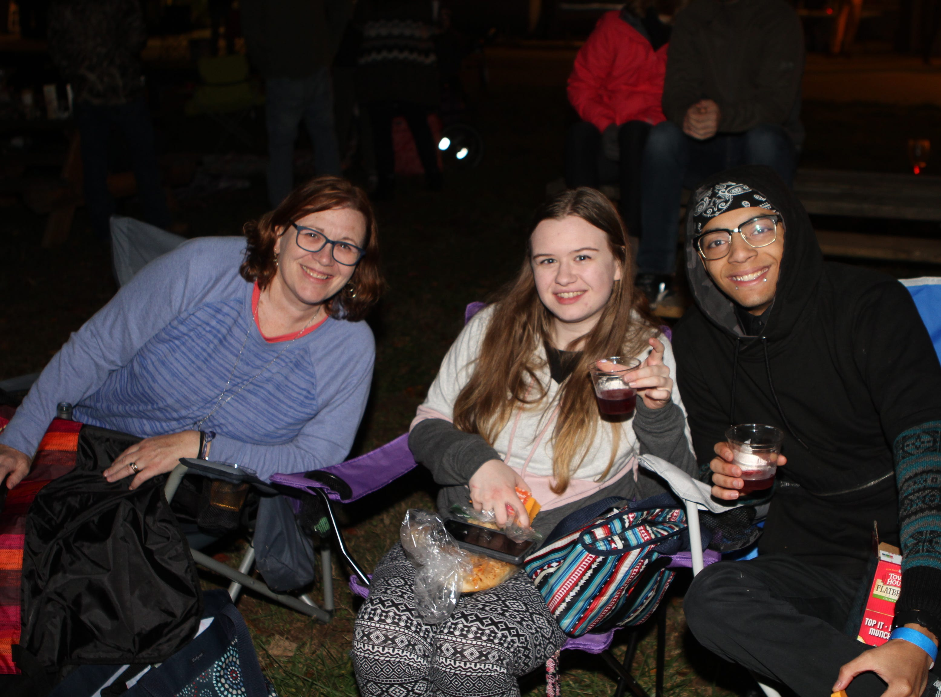 Hundreds came out, many in costume, to enjoy Beachaven's final Jazz on the Lawn of the season, Saturday, Oct. 27, 2018.