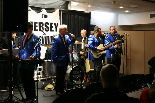 The Jersey Four play Whitehouse Station Knights of Columbus benefit dinner.