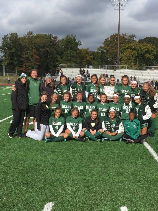 2018 Girls Soccer East Brunswick After Winning Gmc Title