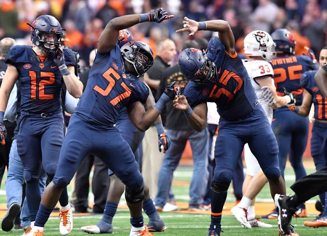 25. Syracuse (6-2) | Last game: Defeated NC State, 51-41 | Previous ranking: NR