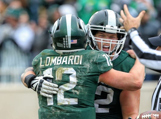 Ncaa Football Purdue At Michigan State