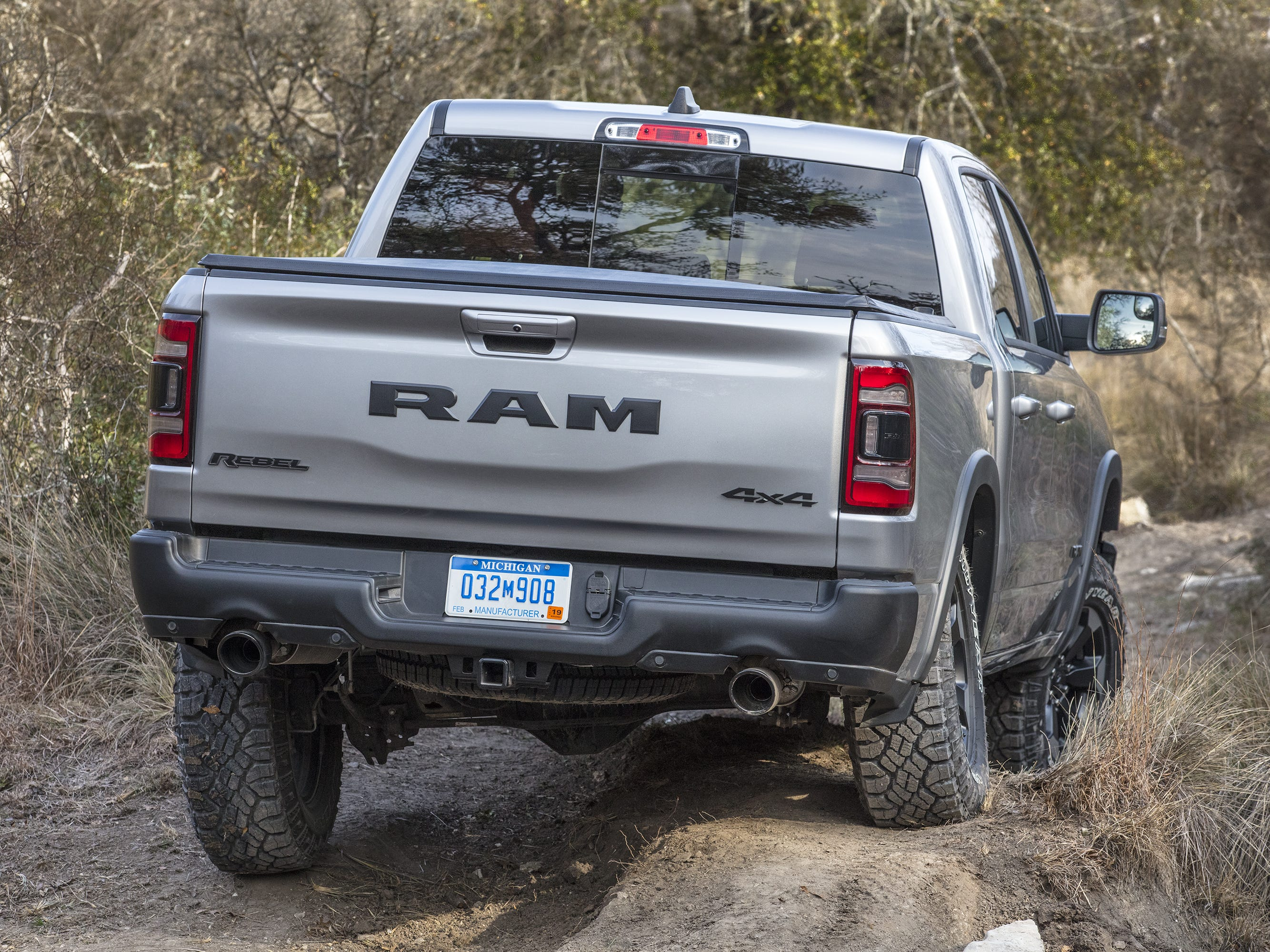 2019 Ram 1500 Rebel frame twist in Austin, Texas.