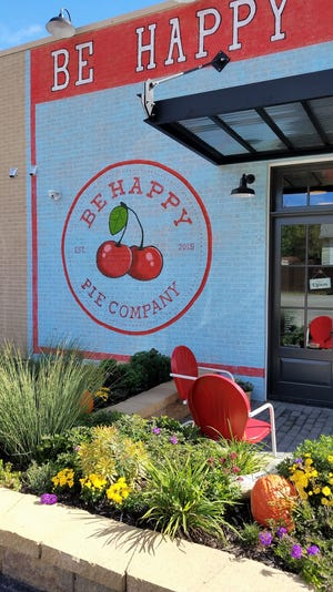 Be Happy Pie company is located at 2818 B Mt. Vernon Ave in Evansville