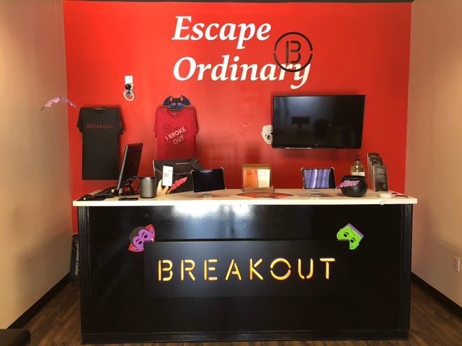 Breakout Games is located in Tallahassee, Fla. on Capital Circle Northeast.