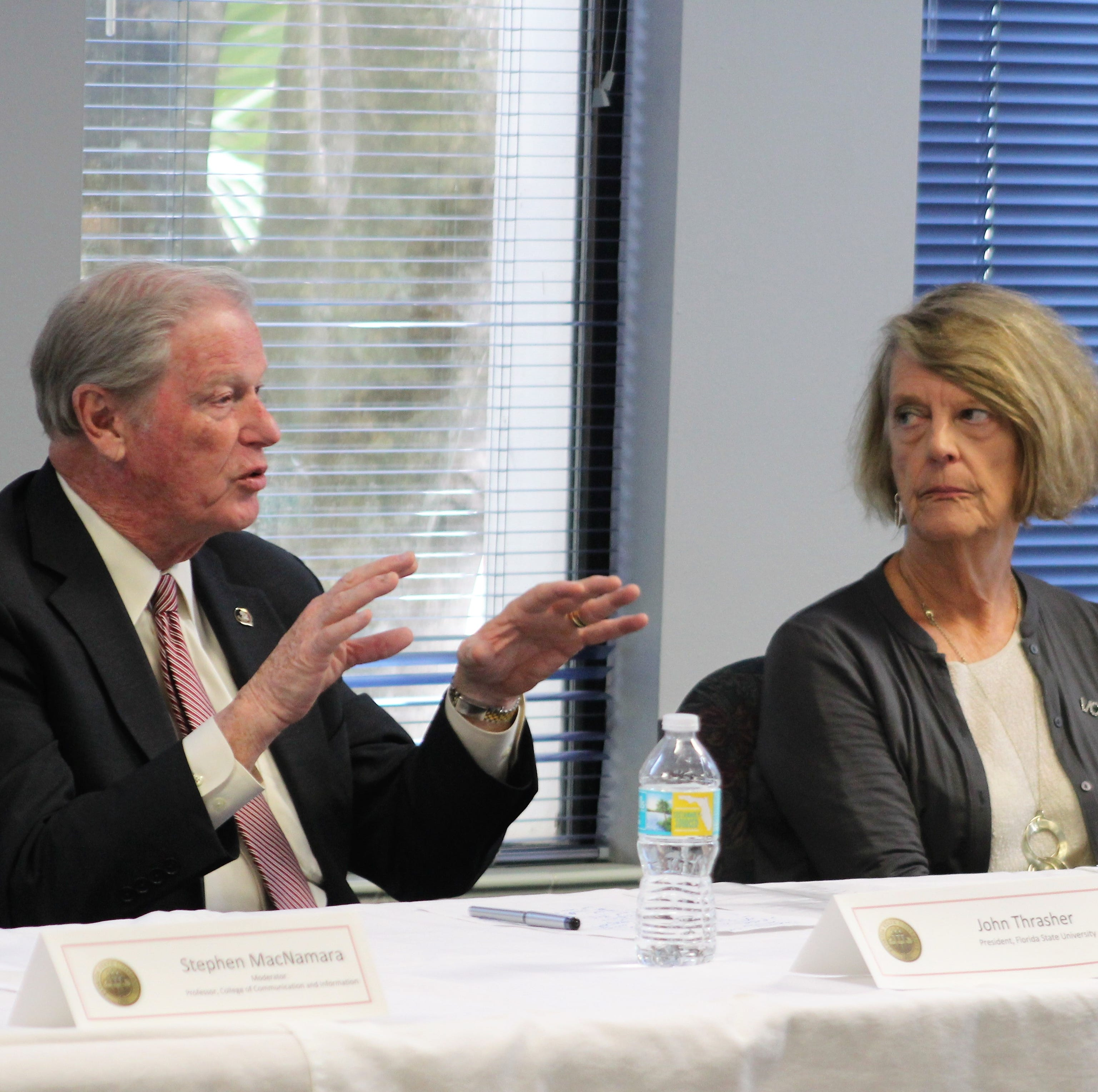 Students should be more active in state government, says FSU President John Thrasher