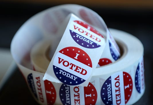 Voters In California Head To Polls To Cast Ballots In State S Primary Election