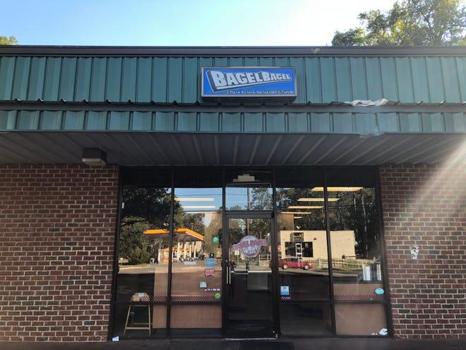 Bagel Bagel is located on West Pensacola Street.