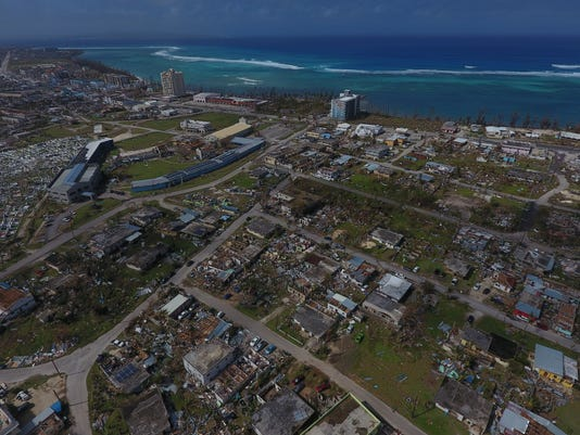 Will Hunter Drone Phot Of Saipan After Yutu