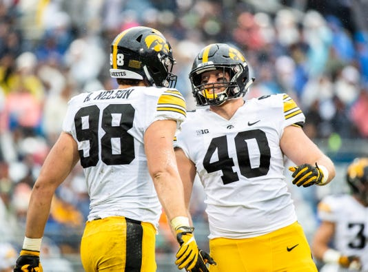 Iowa Hawkeyes V Penn State Nittany Lions