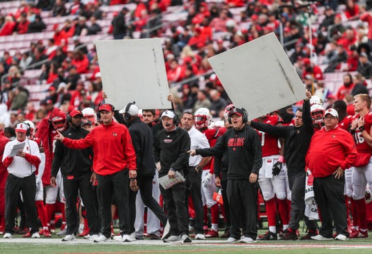 Louisville football coaching staff